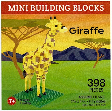 Giraffe Mini Building Blocks
