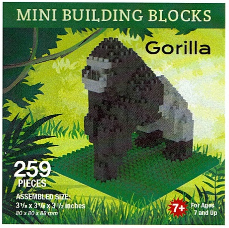 Gorilla Mini Building Blocks