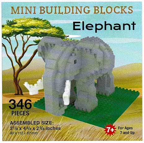 Elephant Mini Building Blocks