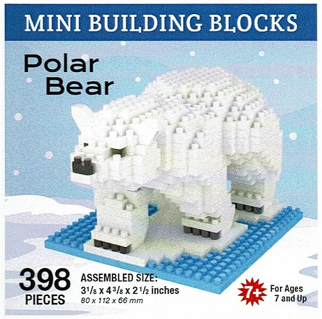 Polar Bear Mini Building Blocks
