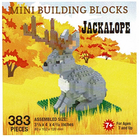 Jackalope Mini Building Blocks