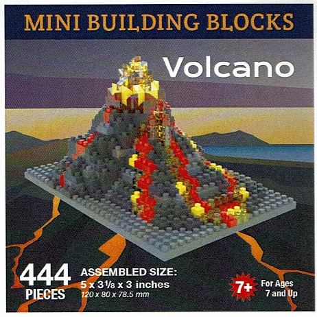 Volcano Mini Building Blocks