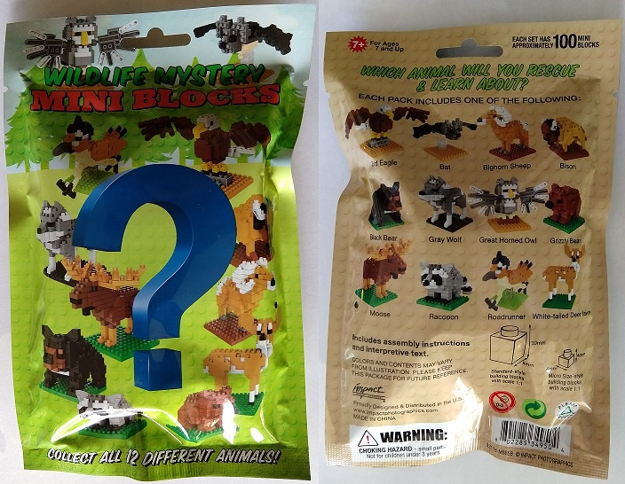 Wildlife Mystery Mini Building Blocks