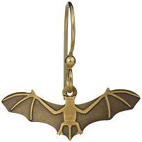 Bronze Bat Earrings