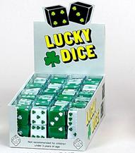 25mm Green Lucky Shamrock Die