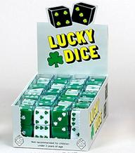 25mm White Lucky Shamrock Die