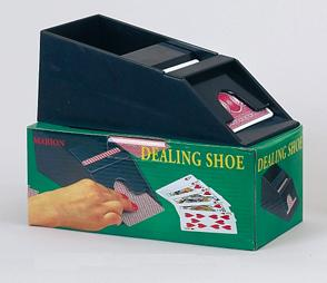 Four Deck Plastic Dealing Shoe