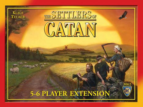 Settlers of Catan 5-6 Player Expansion, 4th Edition