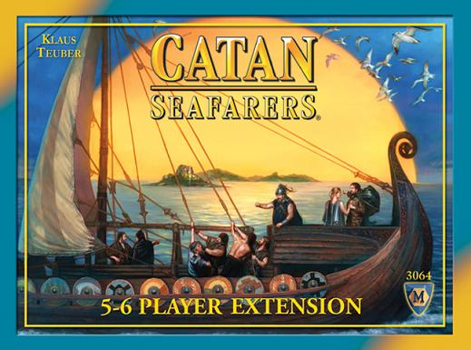 Seafarers of Catan 5-6 Player Expansion, 4th Edition