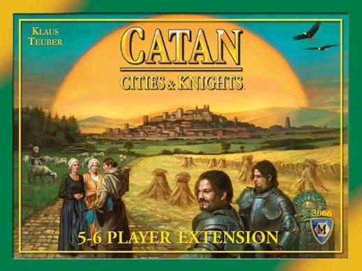 Cities and Knights of Catan 5-6 Player Expansion, 4th Edition