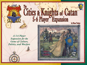 Cities and Knights of Catan 5-6 Player Expansion