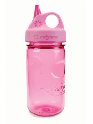 Grip-n-Gulp 12 oz Nalgene Bottle, Pink