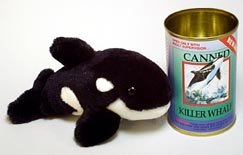 Canned Killer Whale