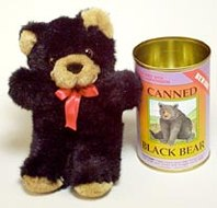 Canned Black Bear
