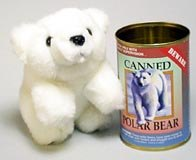 Canned Polar Bear