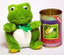 Canned Frog