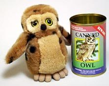 Canned Owl