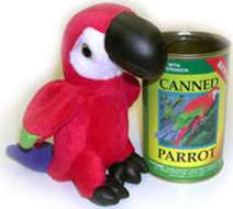 Canned Parrot