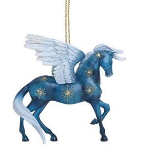 Night Flight Pony Ornament