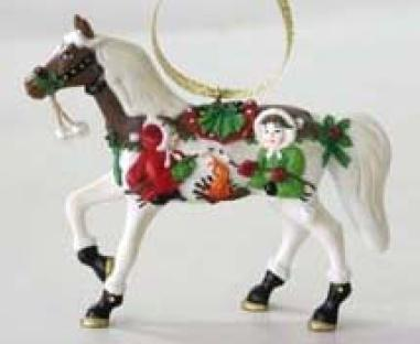 Holiday S'mores and More Pony Ornament