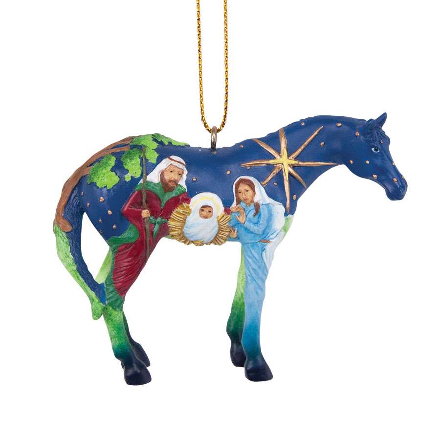 Faith Pony Ornament