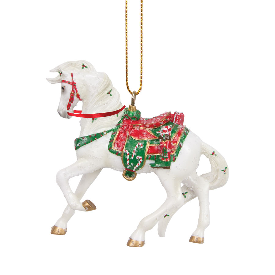 Santa's Stallion Ornament