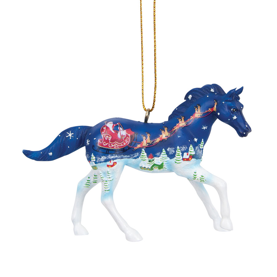 Old Fashioned Christmas Pony Ornament