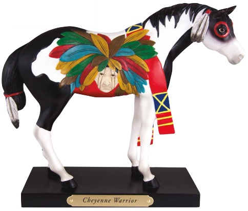 Cheyenne Warrior Pony