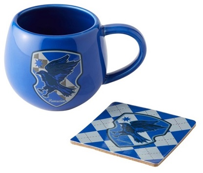 Ravenclaw Crest Mug and Coaster Set