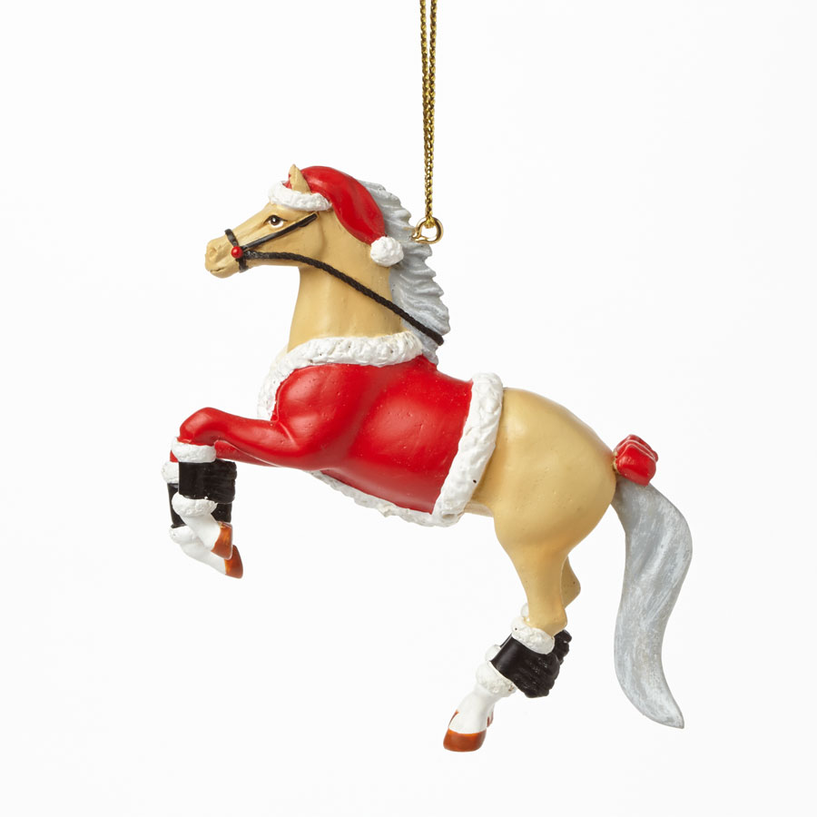 Ornament Santa Pony