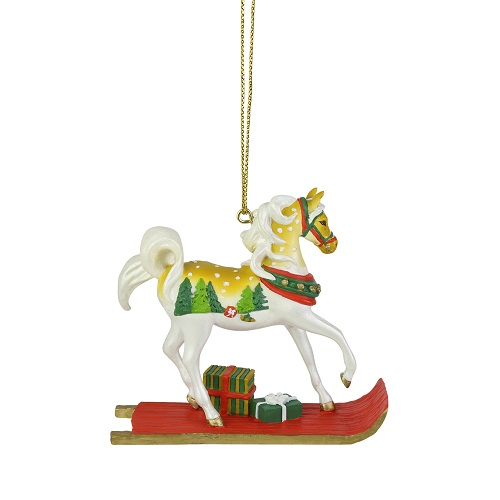 Sleigh Ride Pony Ornament