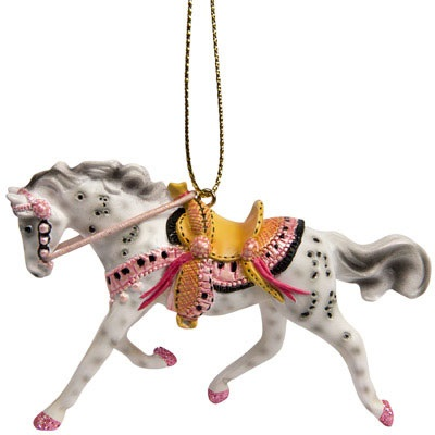 Tickled Pink Pony Ornament