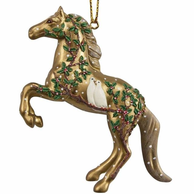 Wonderful Season of Peace Pony Ornament