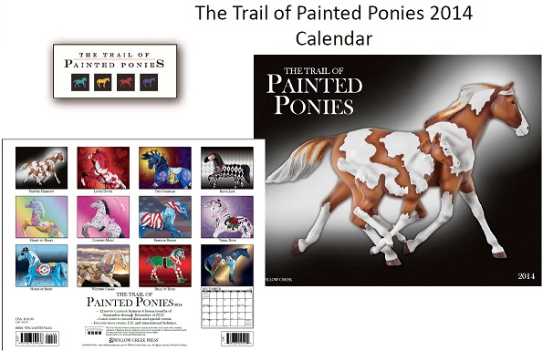 Trail of Painted Ponies 2014 Calendar