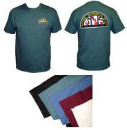 NSS Logo T-Shirt, small, spruce