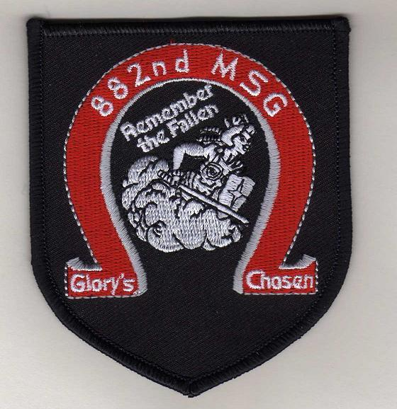 882nd Marines Patch