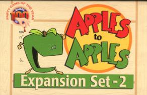 Apples to Apples Expansion 2