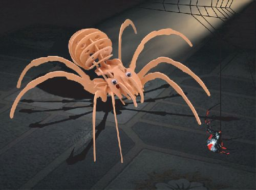 Black Widow Spider Puzzle