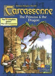 Carcassonne: Princess and the Dragon