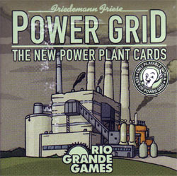 Power Grid Power Plant Cards