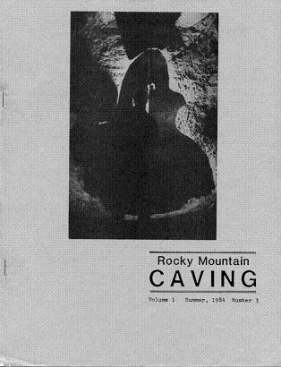 Rocky Mountain Caving Summer 1984