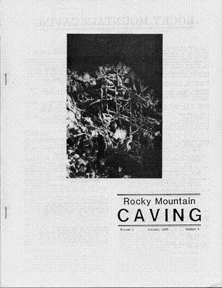 Rocky Mountain Caving Autumn 1984