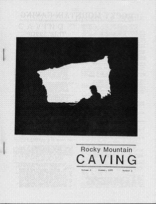 Rocky Mountain Caving Summer 1985