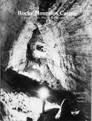 Rocky Mountain Caving Autumn 1986