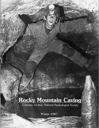 Rocky Mountain Caving Winter 1987