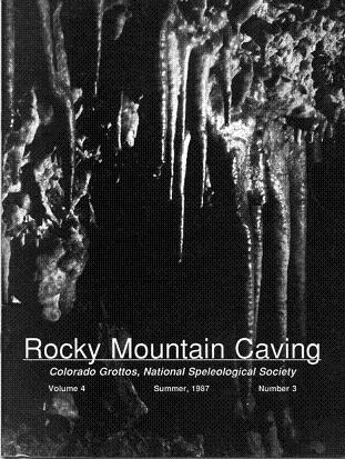 Rocky Mountain Caving Summer 1987