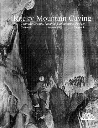 Rocky Mountain Caving Autumn 1987