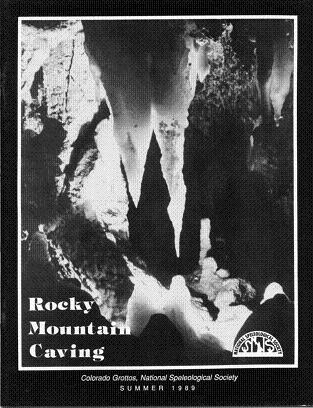 Rocky Mountain Caving Summer 1989