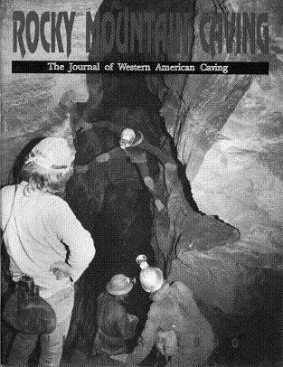 Rocky Mountain Caving Winter 1990