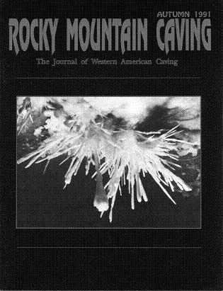 Rocky Mountain Caving Autumn 1991